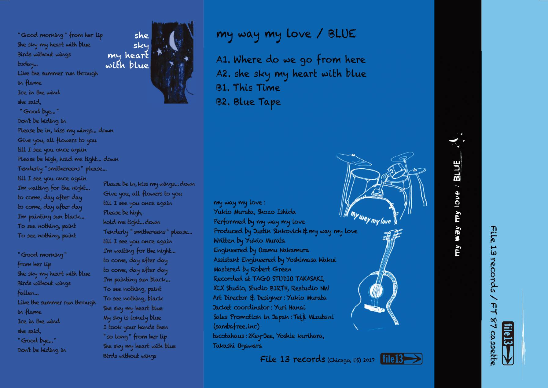 Review : My Way My Love - BLUE(2017)