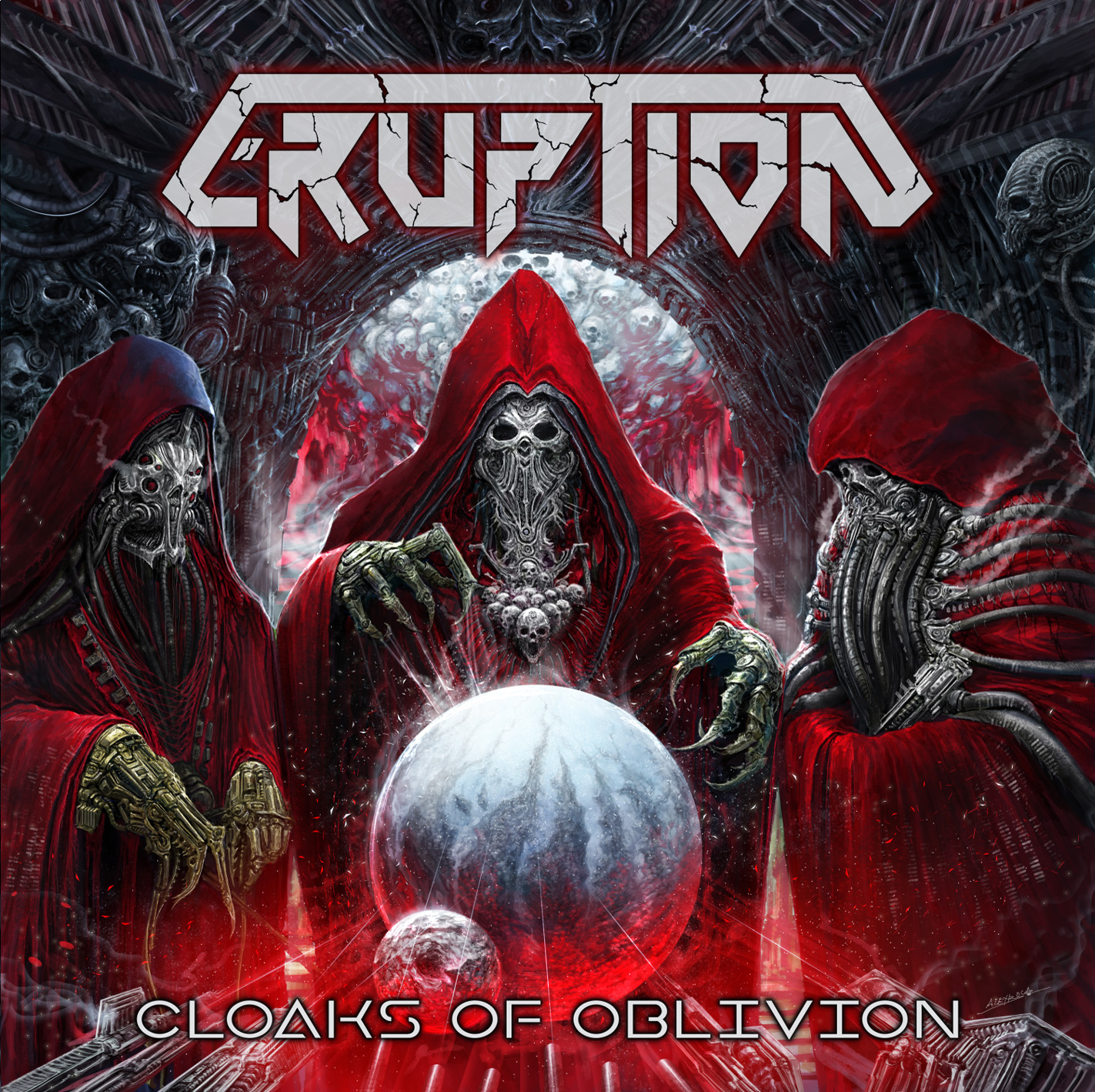 Review : Eruption - Cloaks of Oblivion(2017)