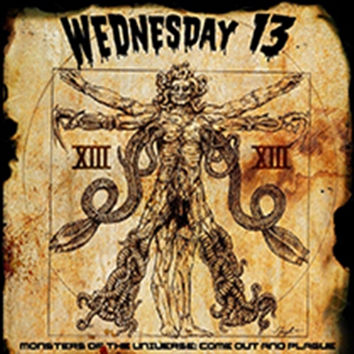 Review : Wednesday 13 - Monsters Of The Universe : Come Out And Plague(2017)