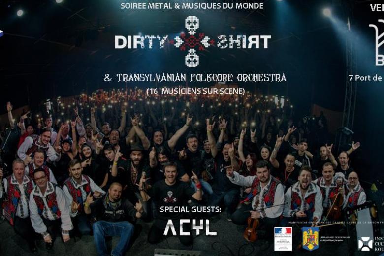 DIRTY SHIRT et ACYL vous invitent à une soirée metal ethnique