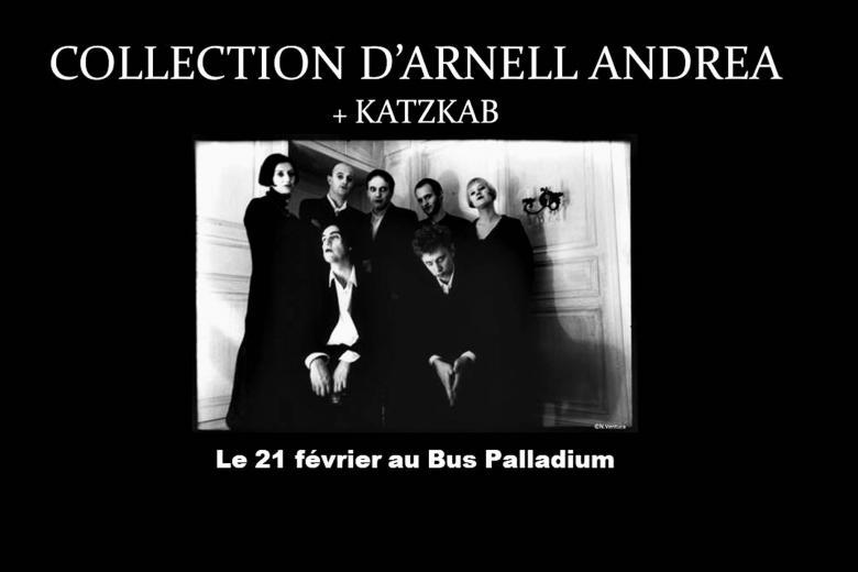 COLLECTION D'ARNELL-ANDREA et KATZKAB à Paris