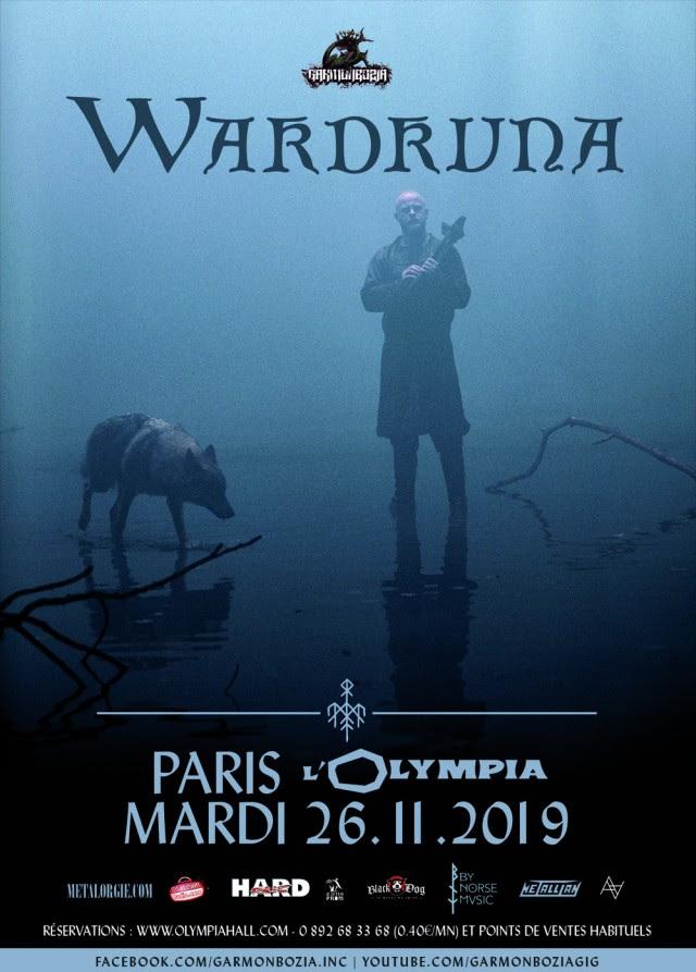 Wardruna @ L'Olympia (Paris) - 26 novembre 2019