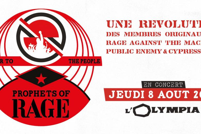 Les PROPHETS OF RAGE reviennent à Paris