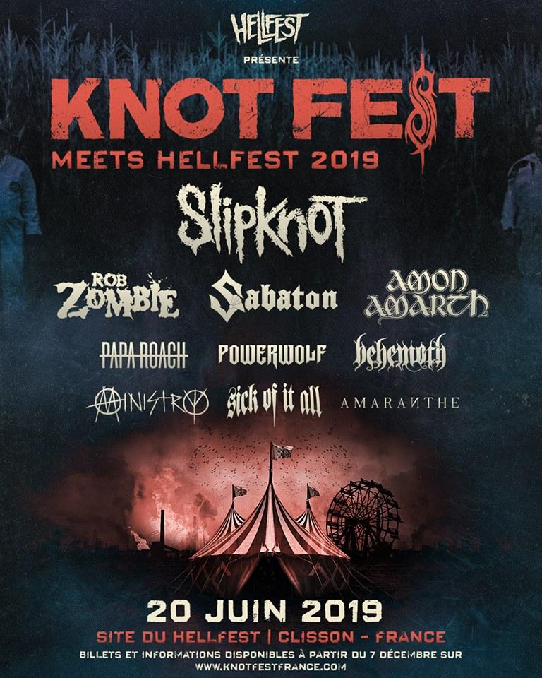 Knot Fest 2019 @  () - 20 juin 2019