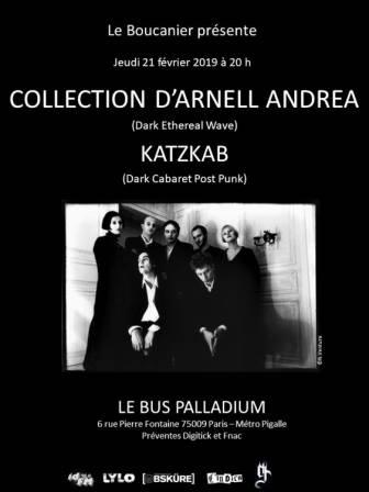 Collection d'Arnell-Andréa + Katzkab - 21 février 2019