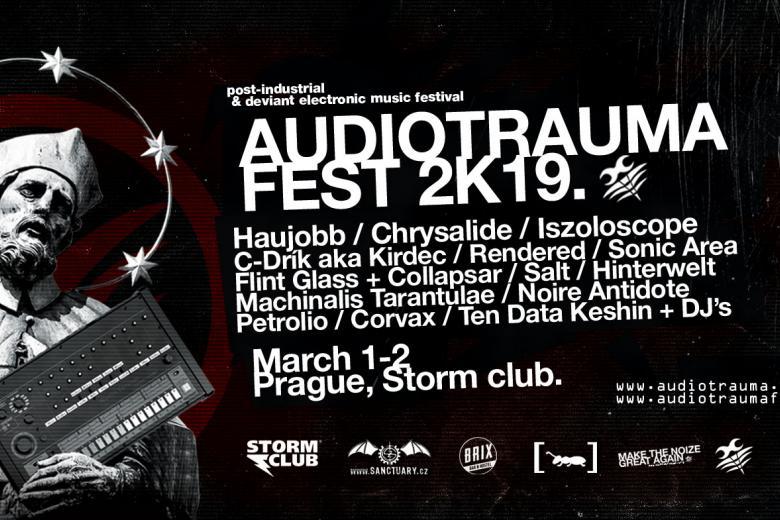 Audiotrauma Fest 2019 : le running order annoncé
