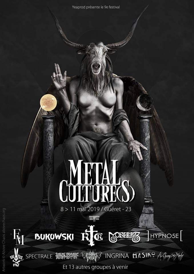 Festival Metal Culture(s) 2019 @  (Guéret) - 08 mai 2019