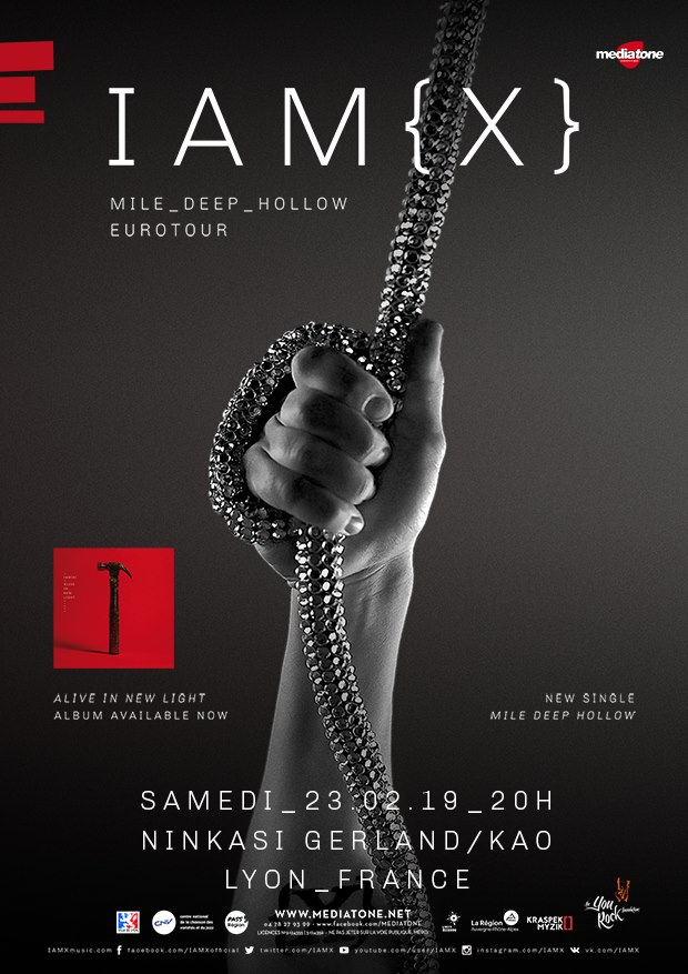 IAMX @ Ninkasi Kao (Lyon) - 23 février 2019