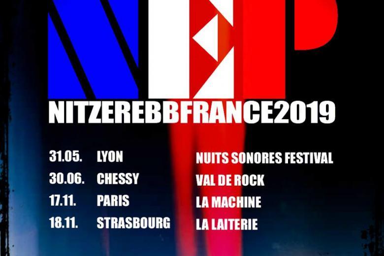 NITZER EBB annonce de nouvelles dates françaises.