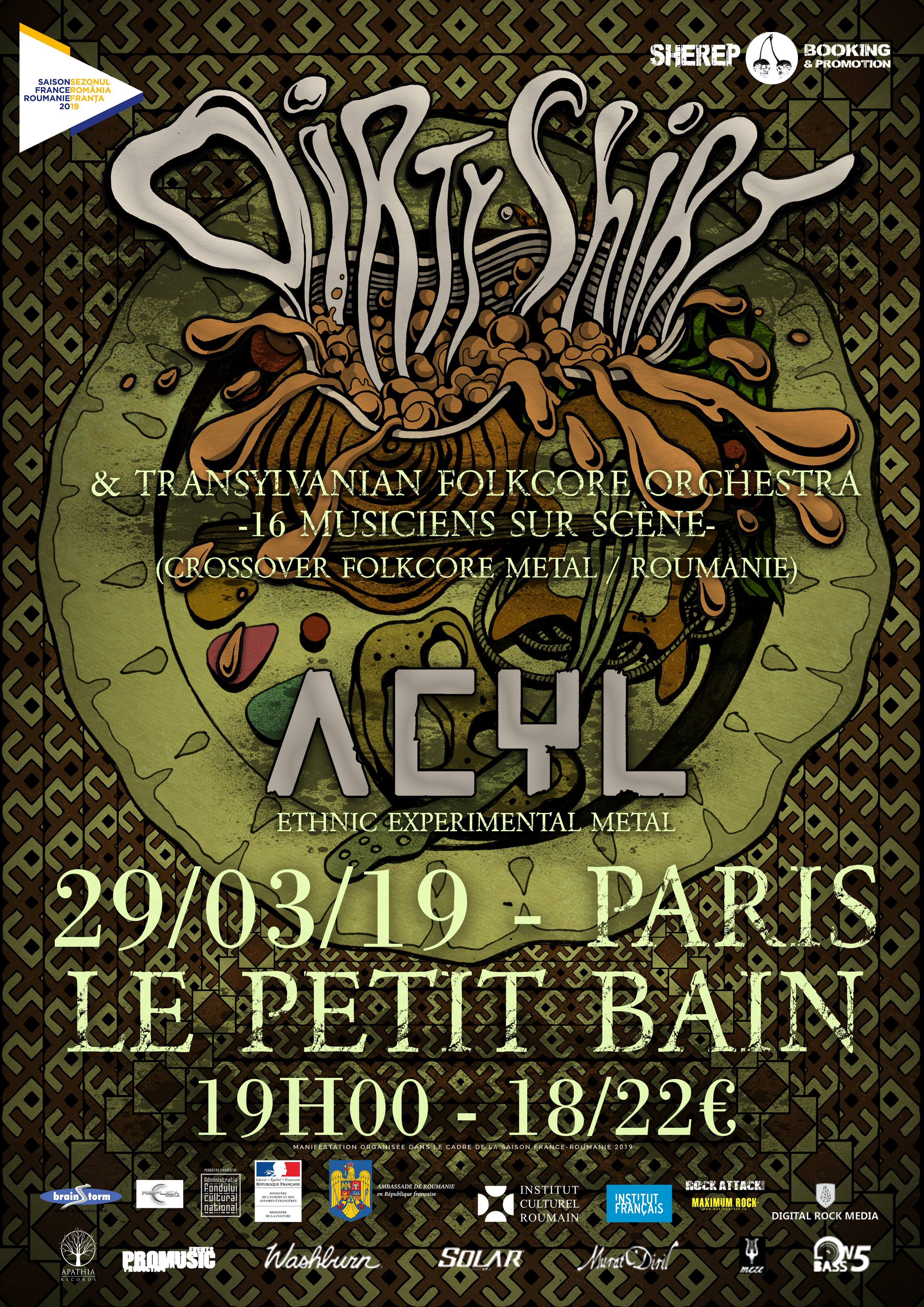 Dirty Shirt + Acyl @ Petit Bain (Paris) - 29 mars 2019