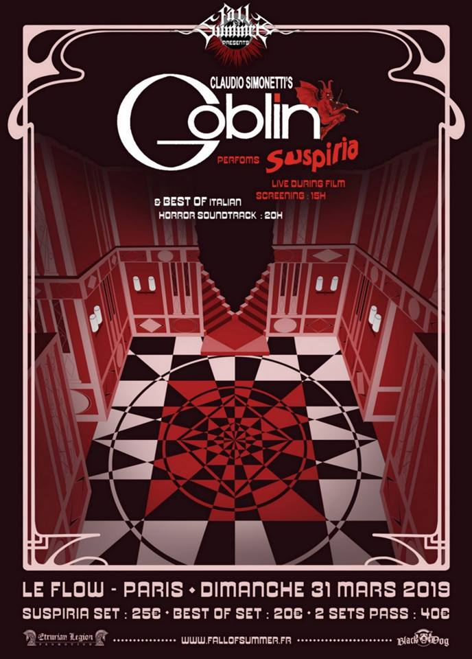 Goblin @ Le Flow (Paris) - 31 mars 2019