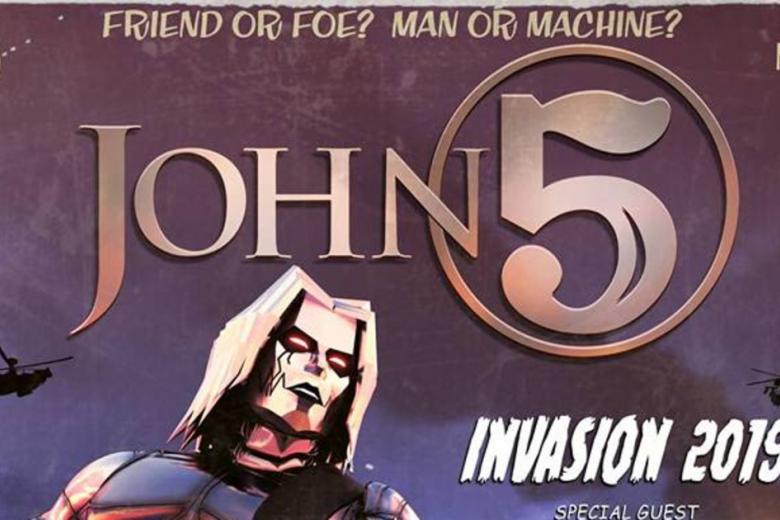 Zoinks ! John 5 se la joue Scooby-Doo dans son dernier clip