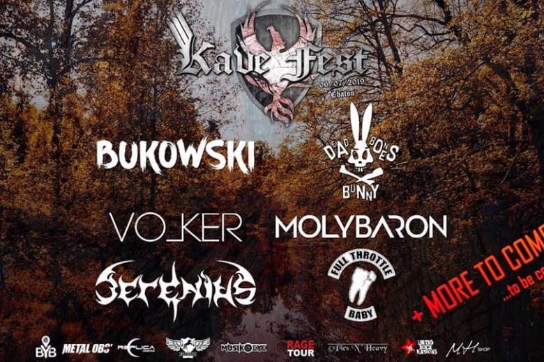 DEAD BONES BUNNY et MOLYBARON rejoignent le Kave Fest
