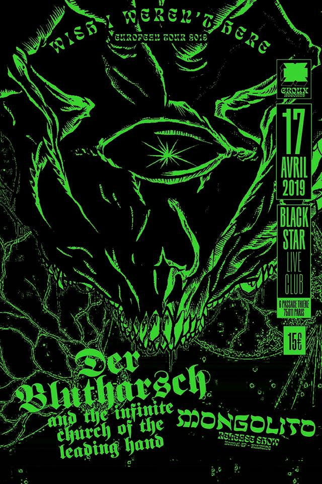 Der Blutharsch + Mongolito @ Black Star (Paris) - 17 avril 2019
