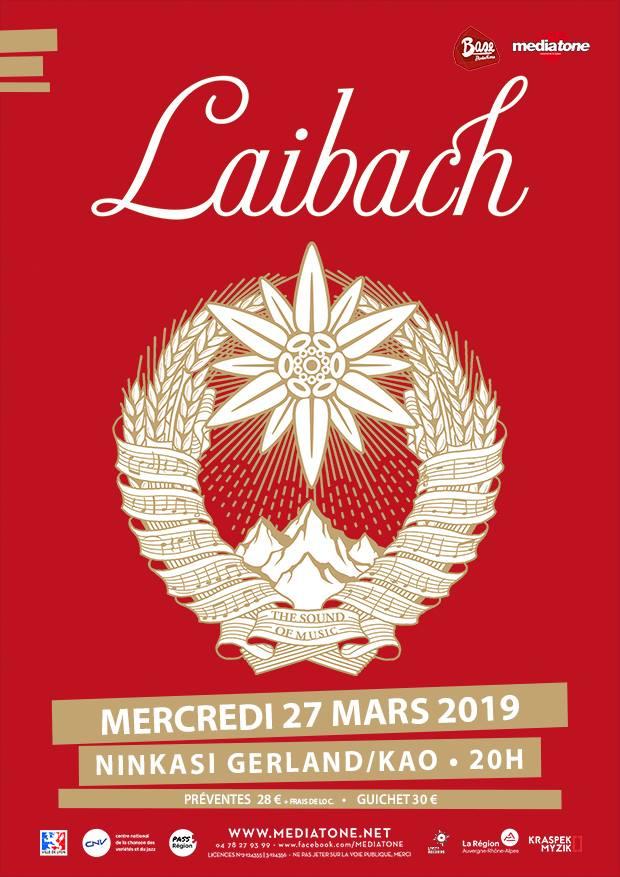 Laibach @ Ninkasi Kao (Lyon) - 27 mars 2019