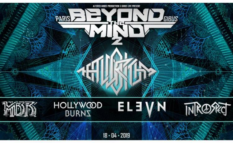 The Algorithm + Elevn + Hollywood Burns + Introspect + Master Boot Record @ Le Gibus - Paris (18 avril 2019)