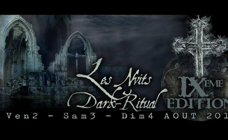 Le neuvième festival des Nuits Dark Ritual partage son affiche