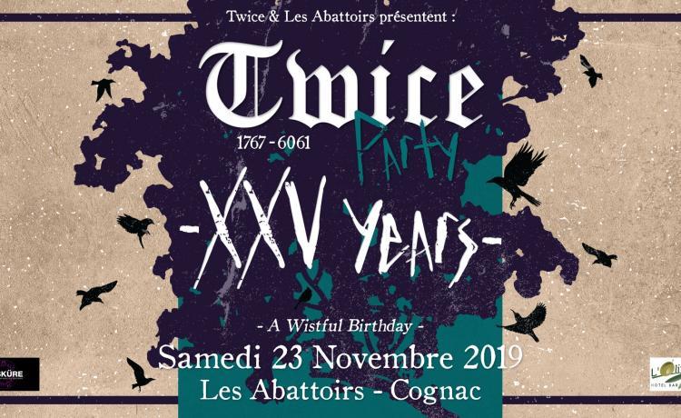 And Also The Trees, Antimatter et Collection d'Arnell-Andrea pour les 25 ans de Twice