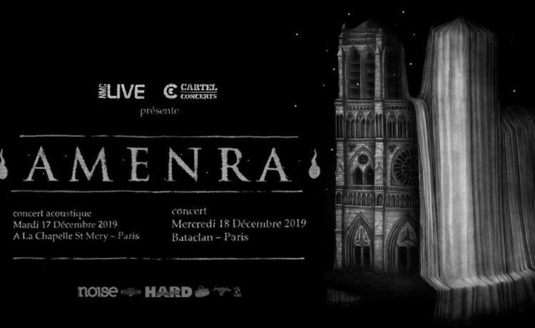 AMENRA donnera deux concerts à Paris