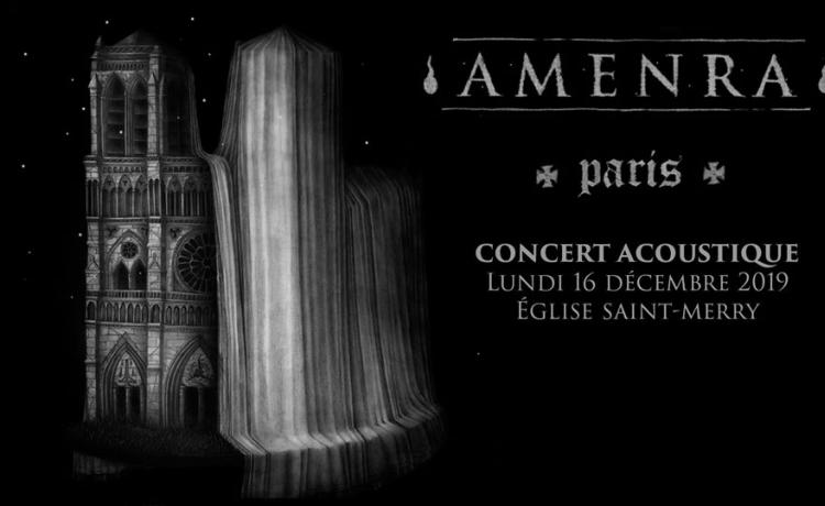AMENRA ajoute une troisième date parisienne