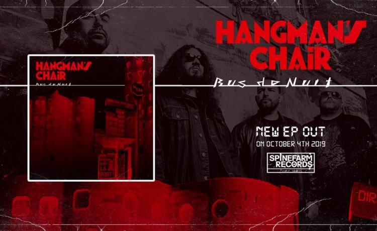 HANGMAN'S CHAIR sort un titre inédit et annonce un EP
