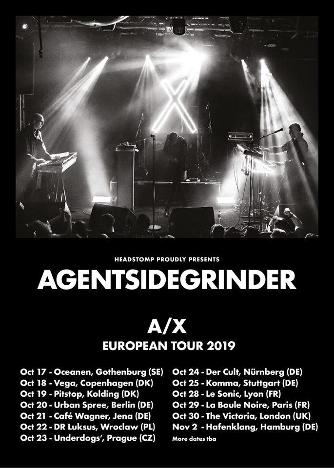 Agent Side Grinder @ Sonic Lyon (Lyon) - 28 octobre 2019