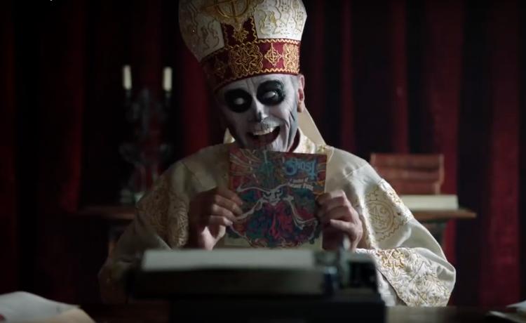 GHOST présente 'Kiss The Go-Goat', son dernier clip