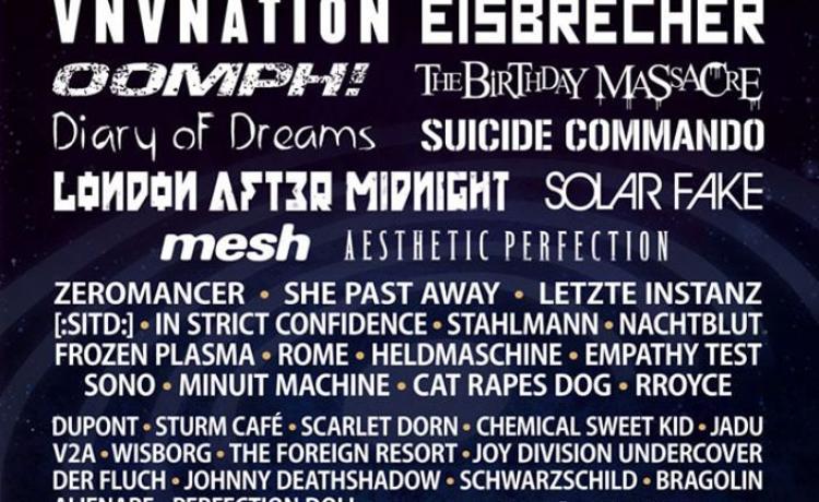 L'affiche de l'Amphi Festival 2020 est complète