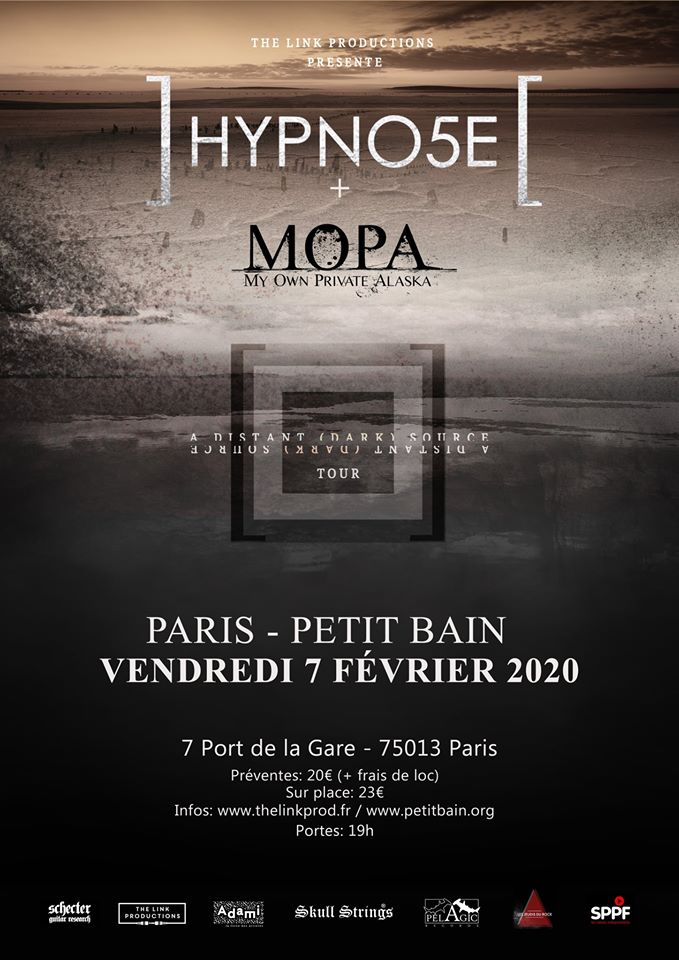 Hypno5e + My Own Private Alaska @ Petit Bain (Paris) - 07 février 2020
