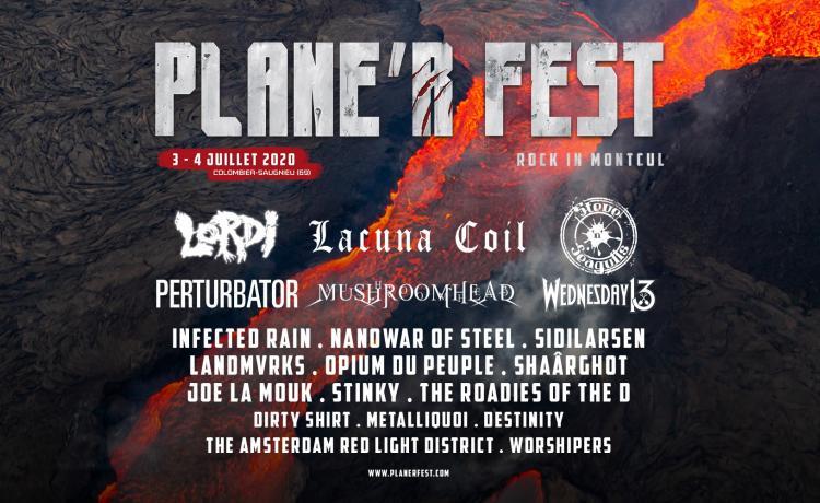Le Plane'R Fest partage son affiche