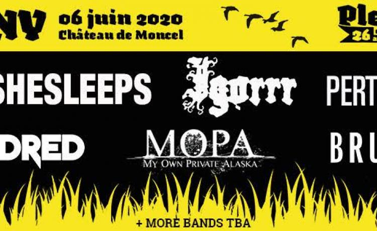 Le Festival Plein Air de Rock 2020 annonce une première salve de groupes