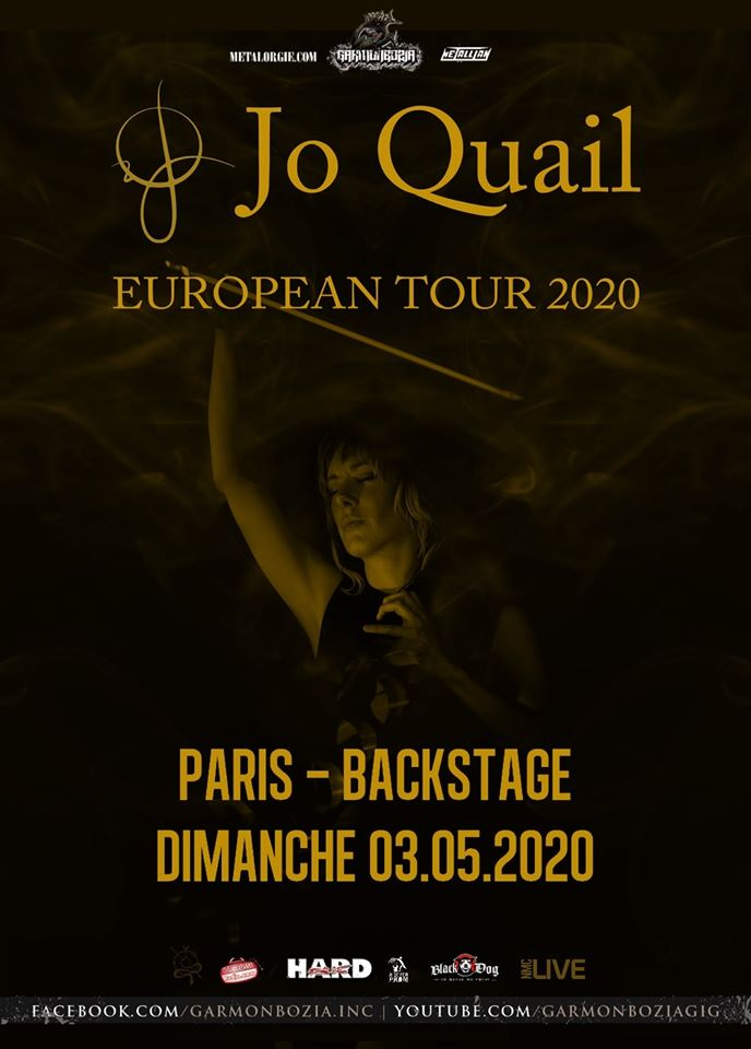 Jo Quail @ Backstage by the Mill (Paris) - 03 mai 2020
