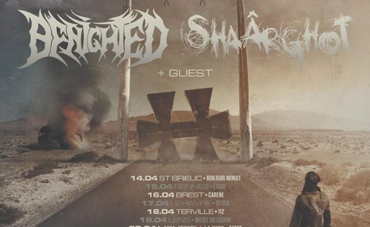 Le Hellfest Warm-Up Tour se fera avec SHAÂRGHOT et BENIGHTED
