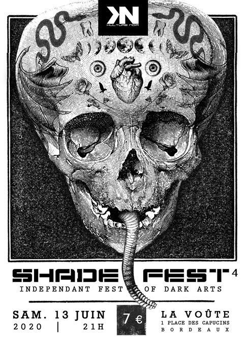 Kulture Noir Shade Fest 4 + Dark Line Spectrum + Larva + Parking Dance @ La Voûte (Bordeaux) - 10 octobre 2020