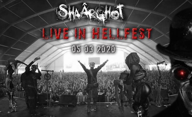 SHAÂRGHOT a sorti la vidéo de son live au dernier Hellfest