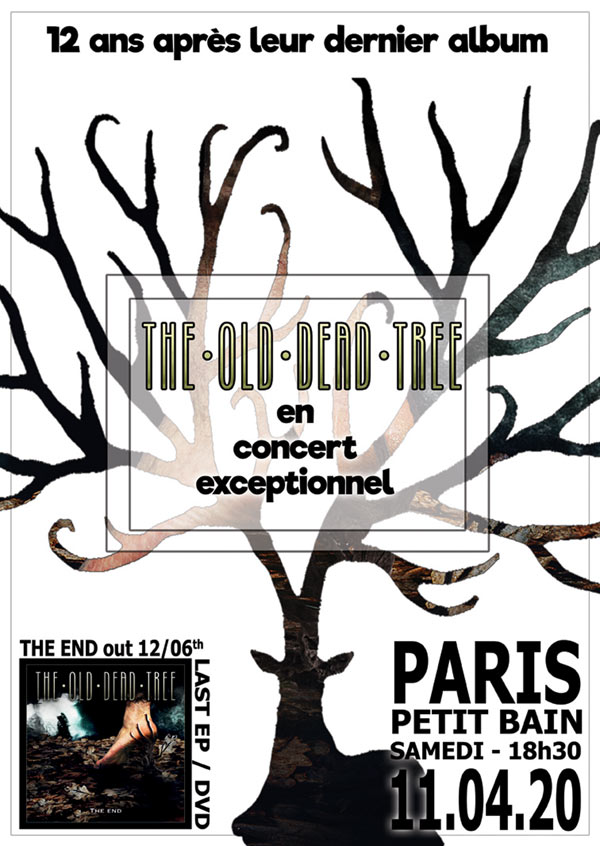 The Old Dead Tree @ Petit Bain (Paris) - 23 octobre 2020