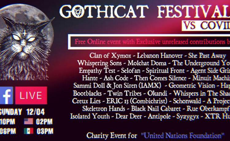 Gothicat, le festival du confinement