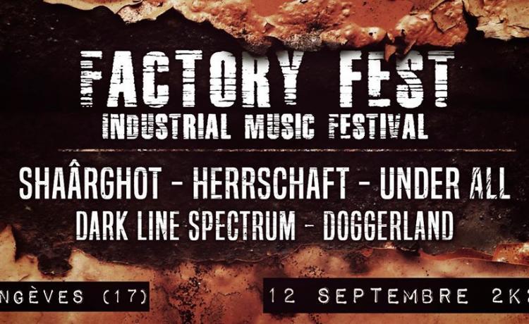 Le Factory Fest est décalé à septembre avec une affiche modifiée