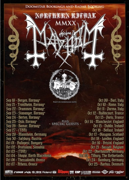 Mayhem + Mortiis @ La Machine (Paris) - 22 mars 2021