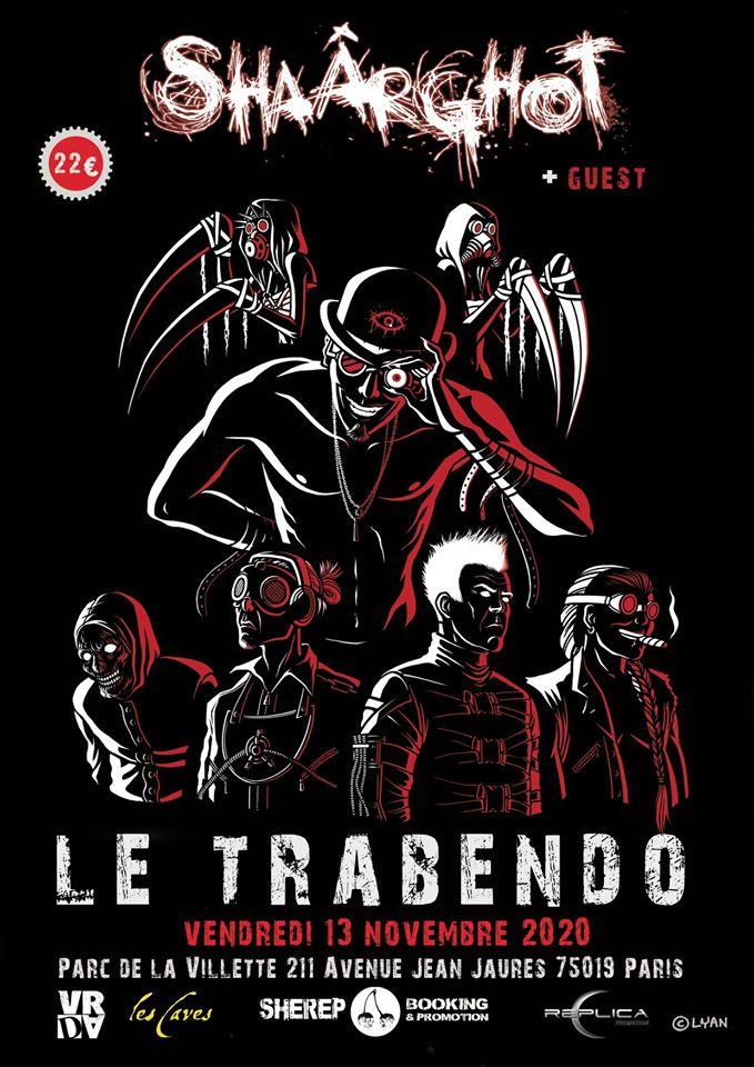 Shaârghot @ Le Trabendo (Paris) - 13 novembre 2020