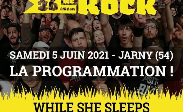 Le Plein Air de Rock 2021 conserve son affiche 2020