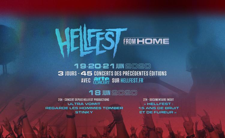 Cette année, le Hellfest est sur arte