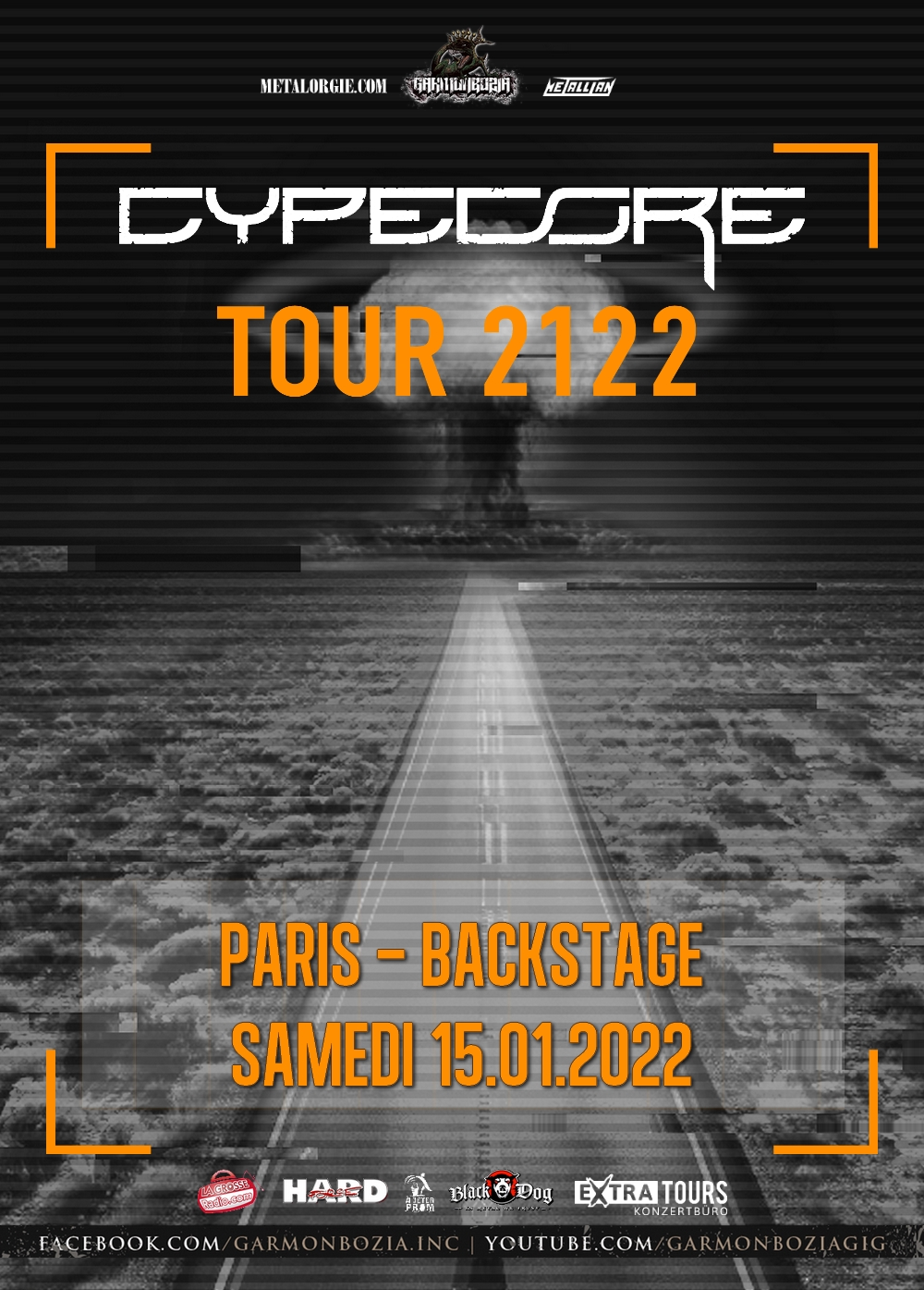 Cypecore @ Backstage by the Mill (Paris) - 15 janvier 2022