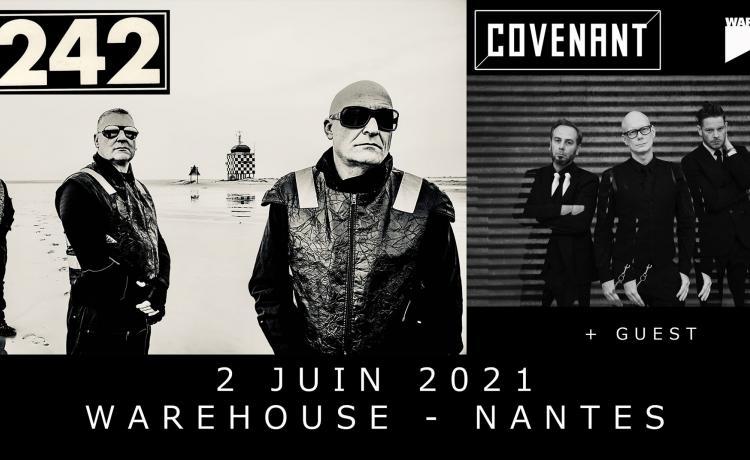 FRONT 242 jouera à Nantes en juin