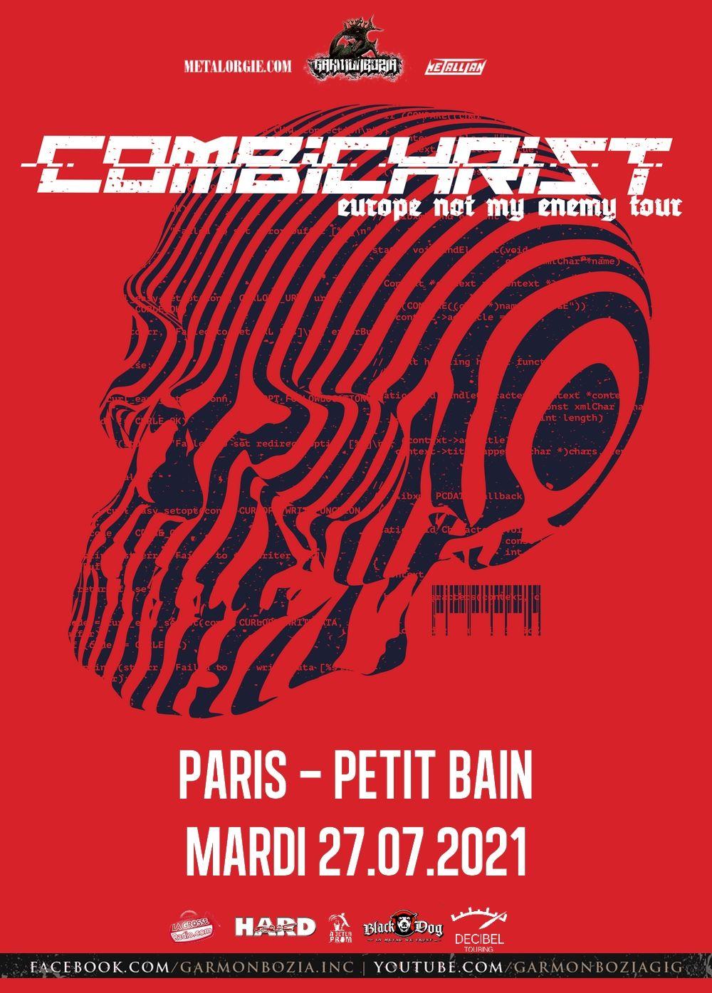 Combichrist @ Petit Bain (Paris) - 27 juillet 2021