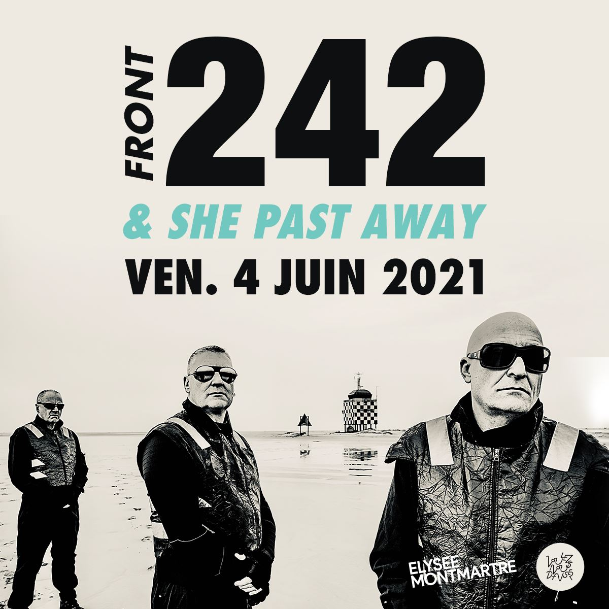 Front 242 + She Past Away @ Elysée Montmartre (Paris) - 04 juin 2021