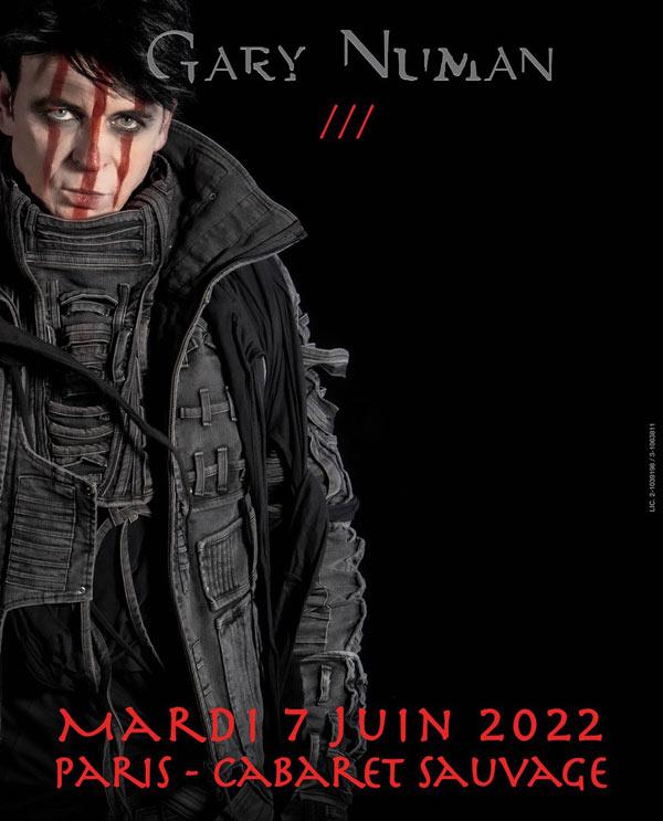 Gary Numan @ Le Cabaret Sauvage (Paris) - 07 juin 2022