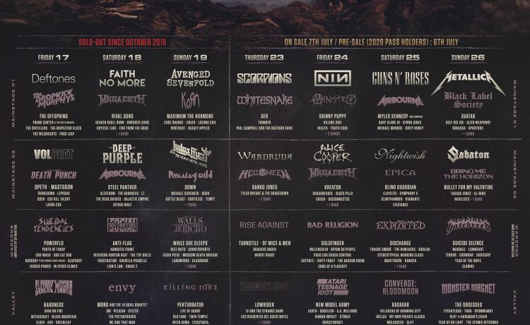 Le Hellfest 2022 annonce son impressionnante double édition