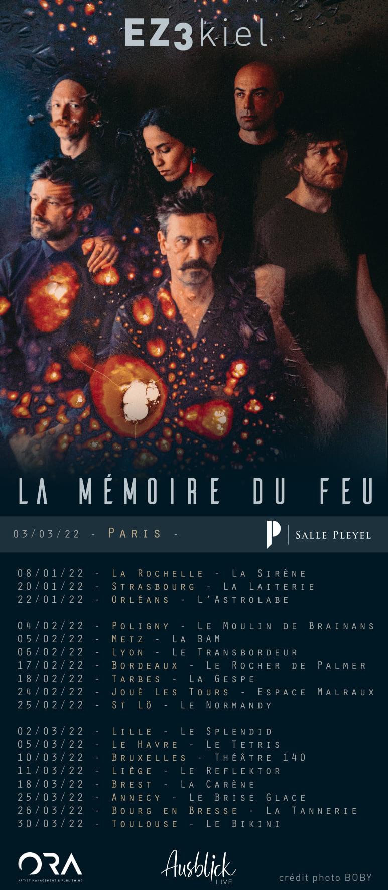 Ez3kiel @ Salle Pleyel (Paris) - 03 mars 2022