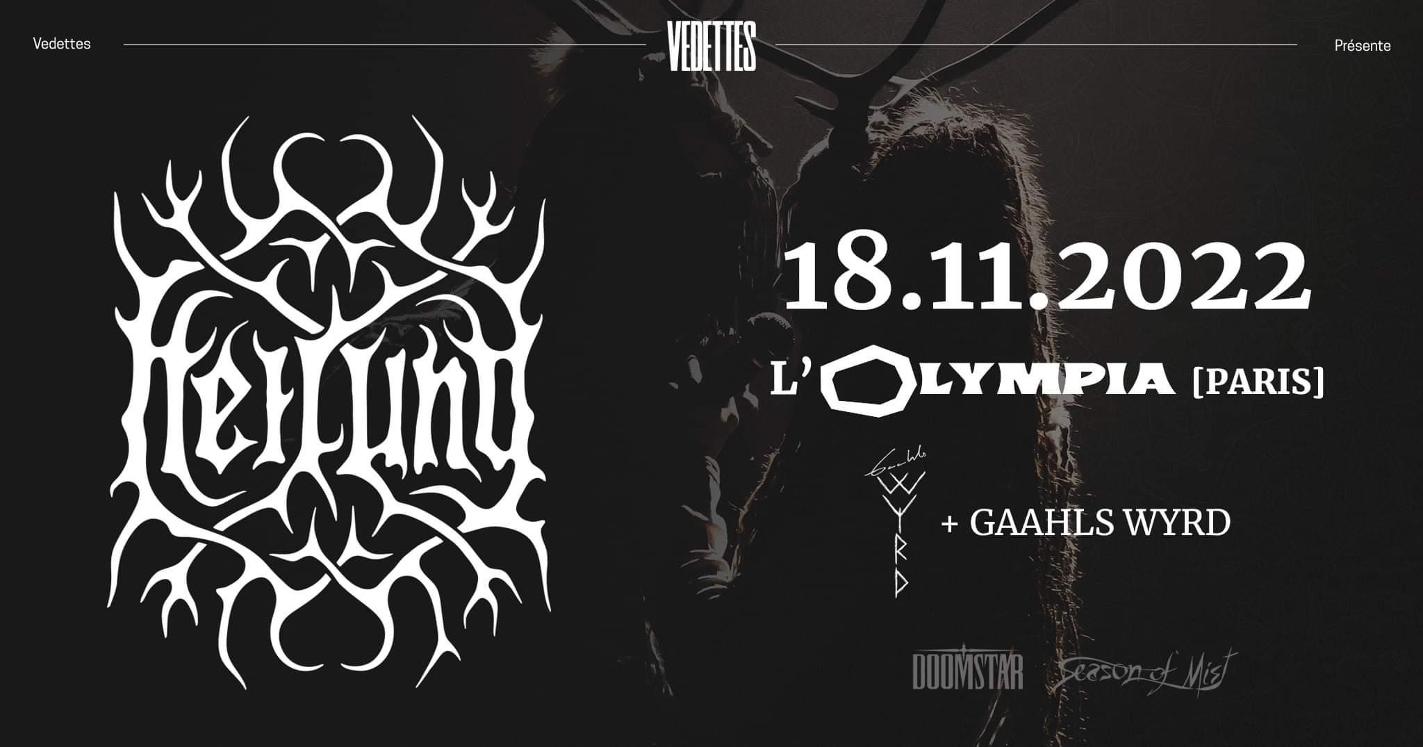 Heilung + Gaahls Wyrd @ L'Olympia (Paris (75)) - 18 novembre 2022